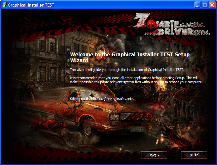 Graphical Installer - NSIS
